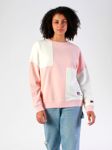 Women's Colour Block Crew