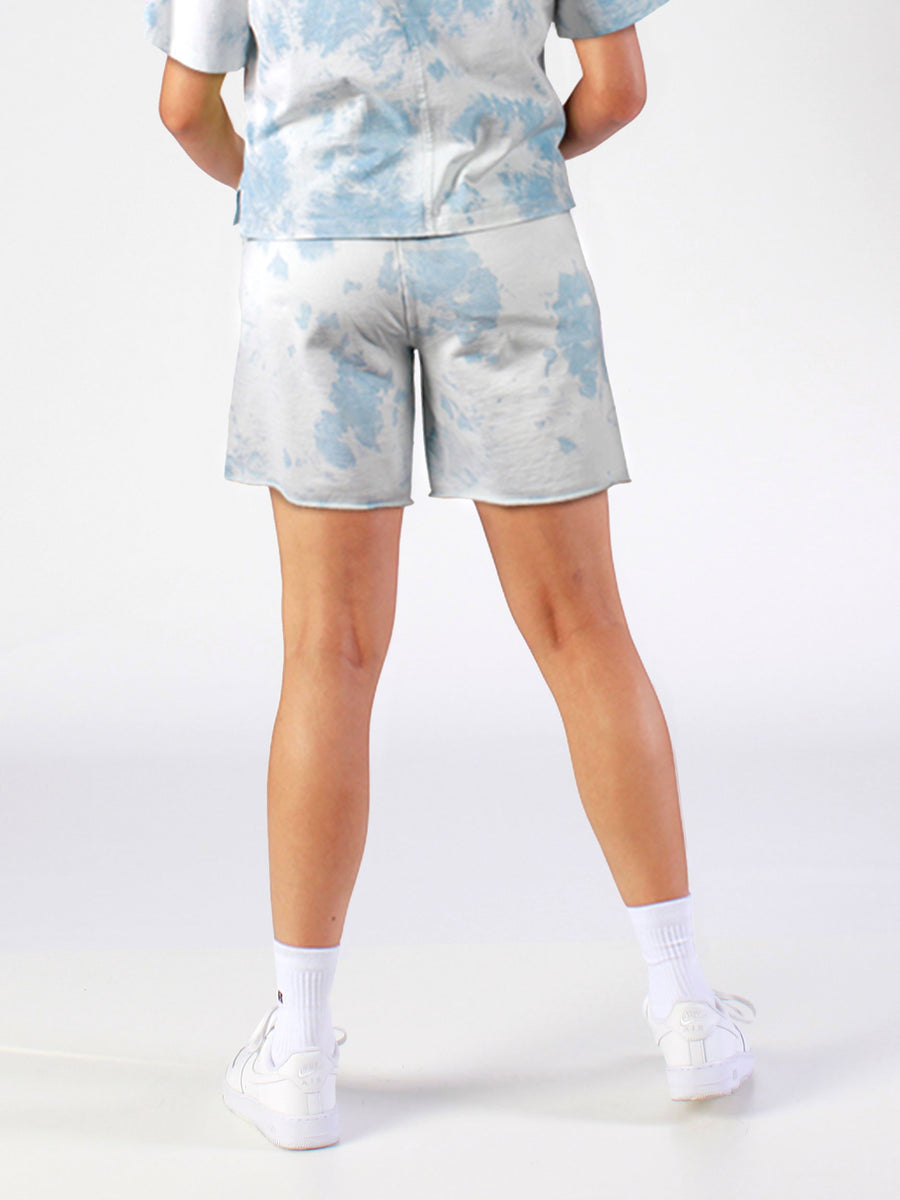 Women's Tie Dyed Track Shorts