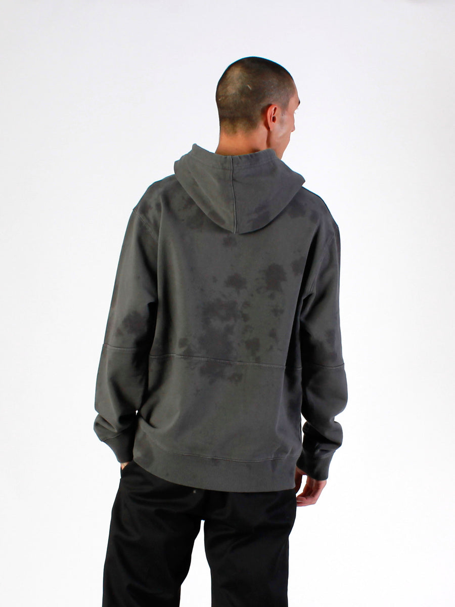Men's Tie Dye Hooded Sweat