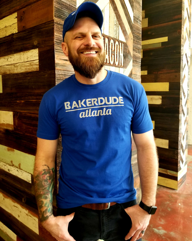Bake Dude Atlanta T-Shirt, Royal Blue