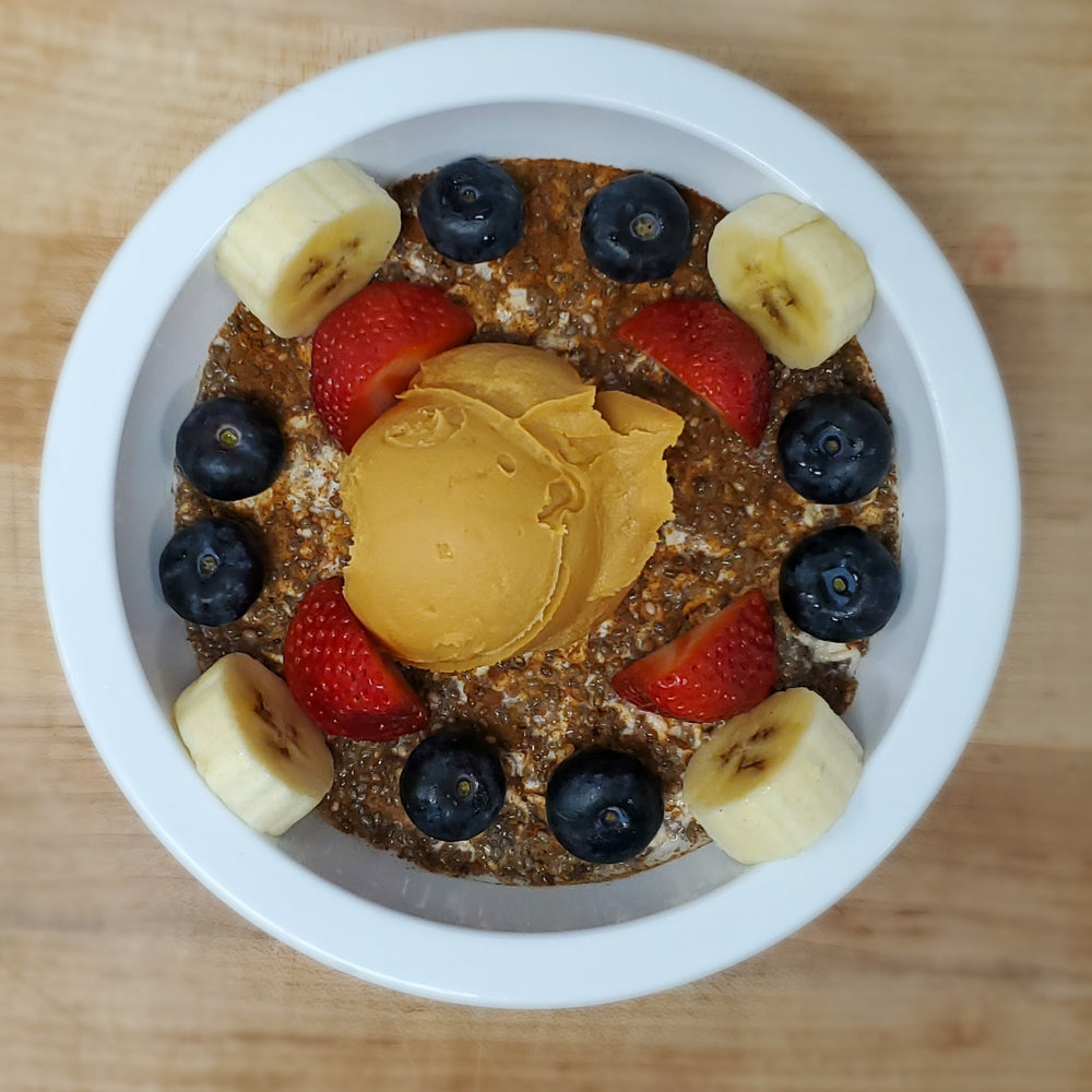 Overnight Oat-Chia Bowl (GF)