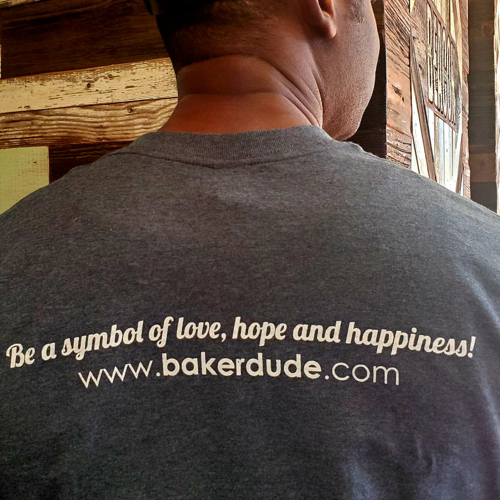 Bake Dude Atlanta T-Shirt, Dark Heather Grey