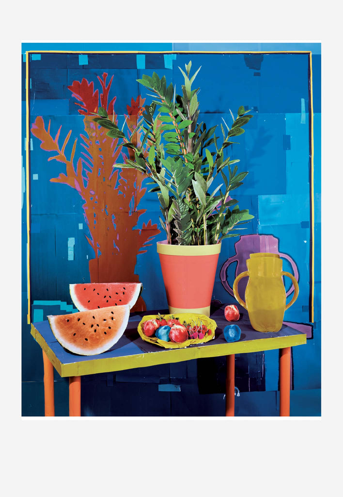 Still Life with Watermelon, 2017: Featured Product Image