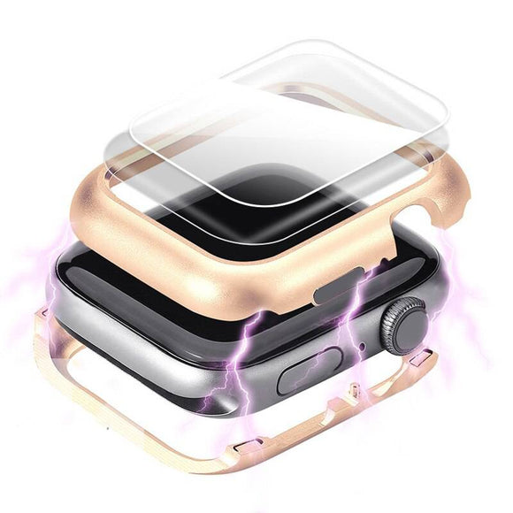 Ultimate Gold Edition Steel Apple Watch Case & Screen Protector