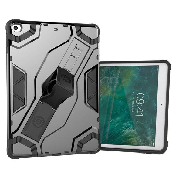 Apple iPad Air 9.7 Inch Heavy Duty Anti Shock Case Cover With Hand Strap Stand