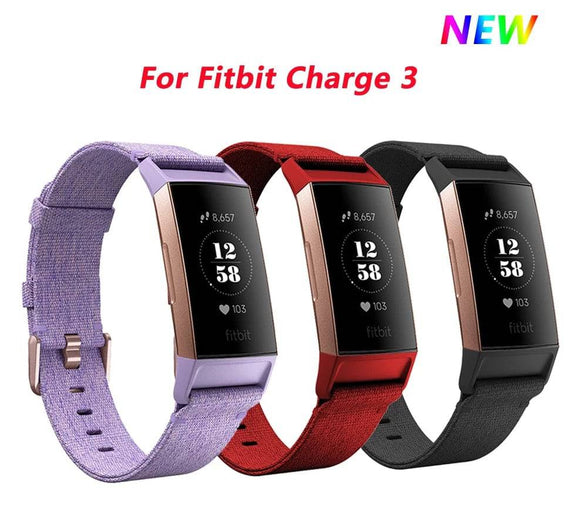 Fitbit Charge 3 & 4 Ultimate Sport Fitness Nylon Band