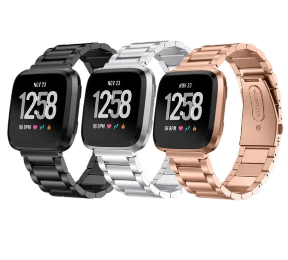 Fitbit Versa 2 Stainless Steel Elite Band
