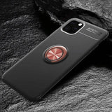 iPhone 11 Magnetic Ring Anti-Shock Phone Case