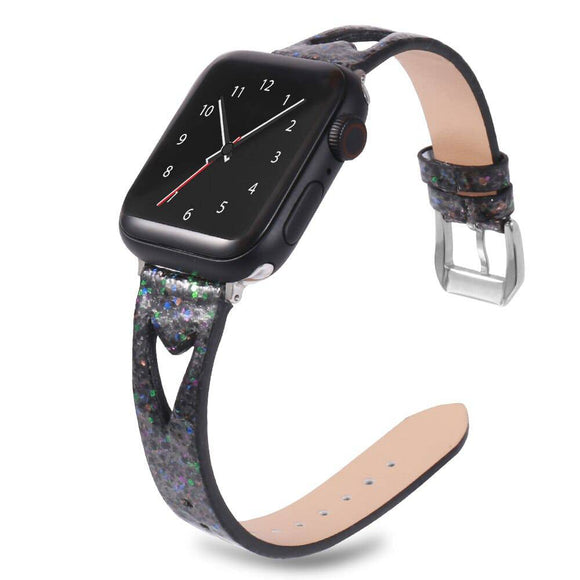 Women's Premium Thin Genuine Leather Apple Watch Band