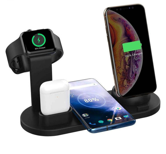 Pinnacle Premium Apple 4 In 1 Rapid Charging Stand Dock Station
