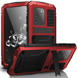 360 Full Metal Aluminum Armor Case For Samsung Galaxy S20 Plus S20 Ultra