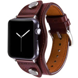 Premium Custom Genuine Cowhide Leather Apple Watch Band