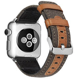 Classic Gentlemans Genuine Leather Apple Watch Band
