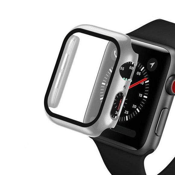 Custom Special Tempered Glass Watch Case For Apple Watch Series 1/2/3/4/5/6