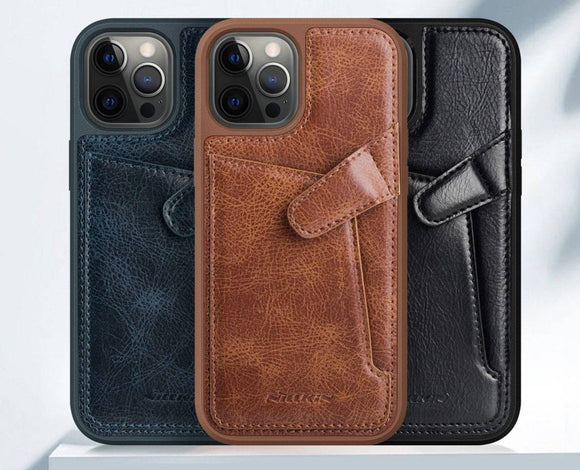 Pinnacle Custom Genuine Leather iPhone 12 Pro Max Mini Case