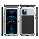 Full Protective Military Grade Kickstand Waterproof Case For iPhone 12 Pro Max Mini