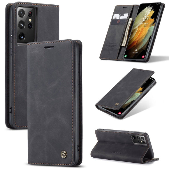 Genuine Premium Leather Samsung Galaxy S21/S21 Plus/S21 Ultra 5G Phone Case
