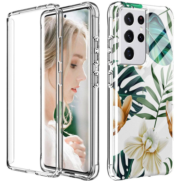 Samsung Galaxy S21/S21 Plus/S21 Ultra 5G Womens Floral Phone Case