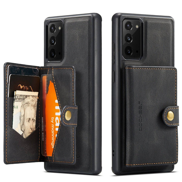 Premium Samsung Galaxy Leather Wallet Card Case