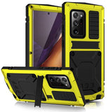 360 Full Metal Aluminum Armor Case For Samsung Galaxy S21 Plus S21 Ultra