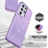 Diamond Bling Silicone Case For Samsung Galaxy S21 Ultra / S21 Plus