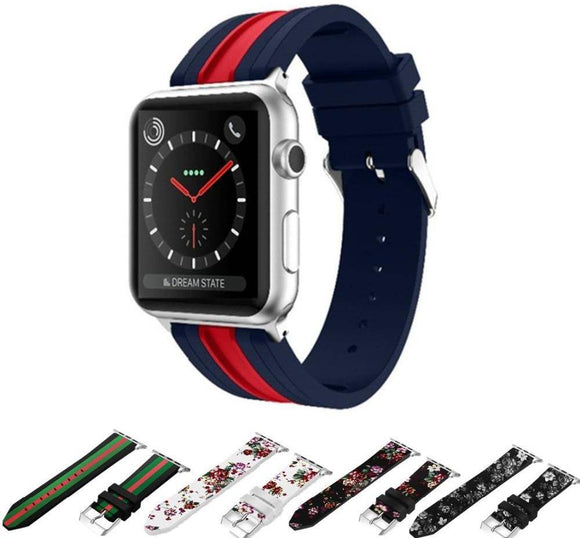 American Revolution Silicone Apple Watch Band