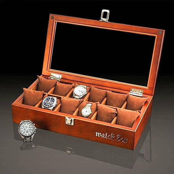 Rustic Watch Collectors Display Box
