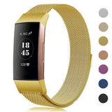 Fitbit Charge 3 & 4 Prestige Stainless Steel Mesh Loop Band