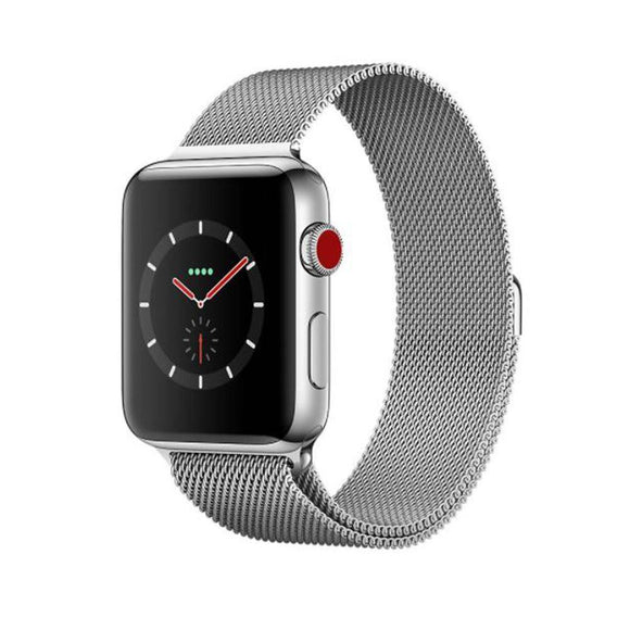 Apple Stainless Steel Mesh Loop Watch Band