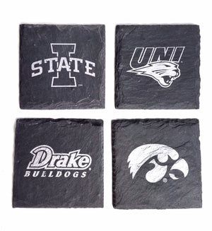 Collegiate Gift Set with Coasters & Holder