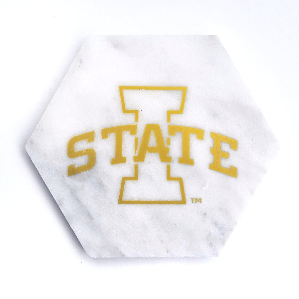 Iowa State Cyclones Marble Coaster