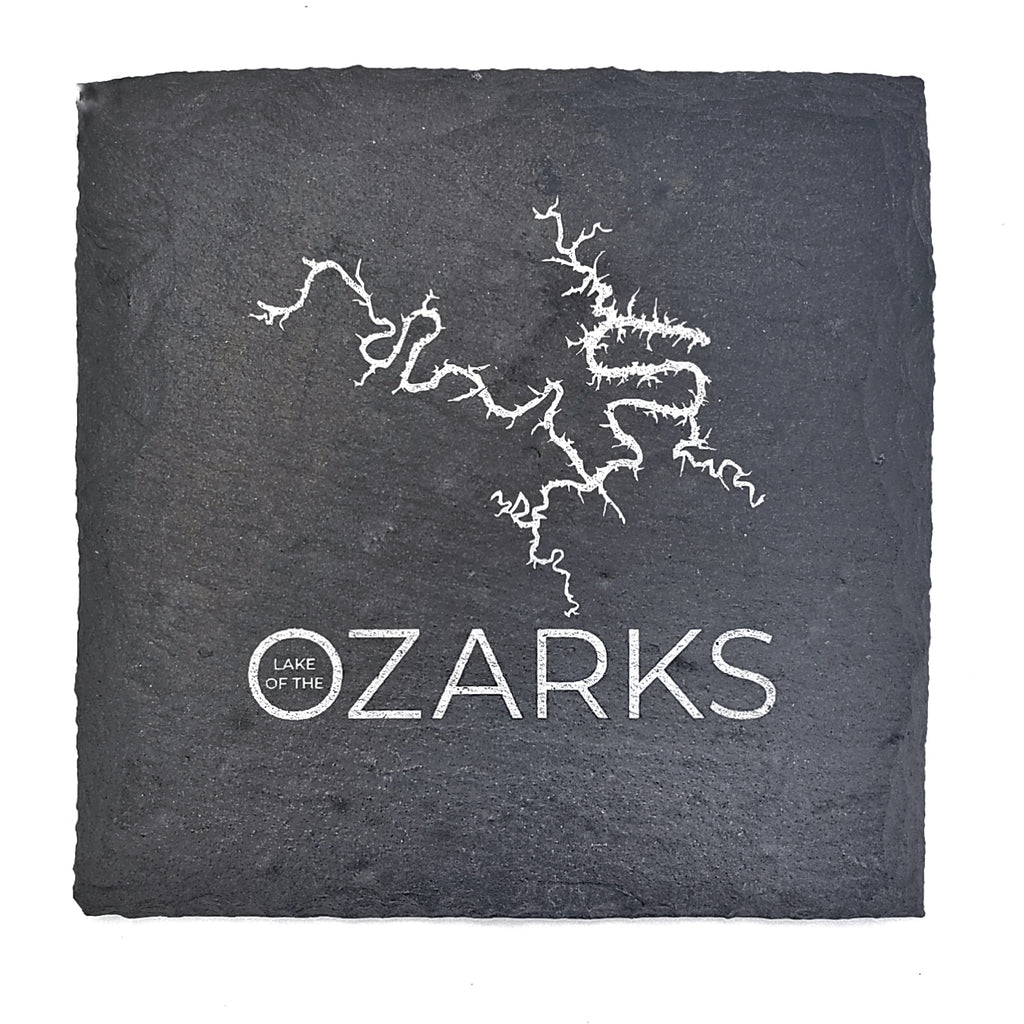 Lake of the Ozarks Slate Coaster