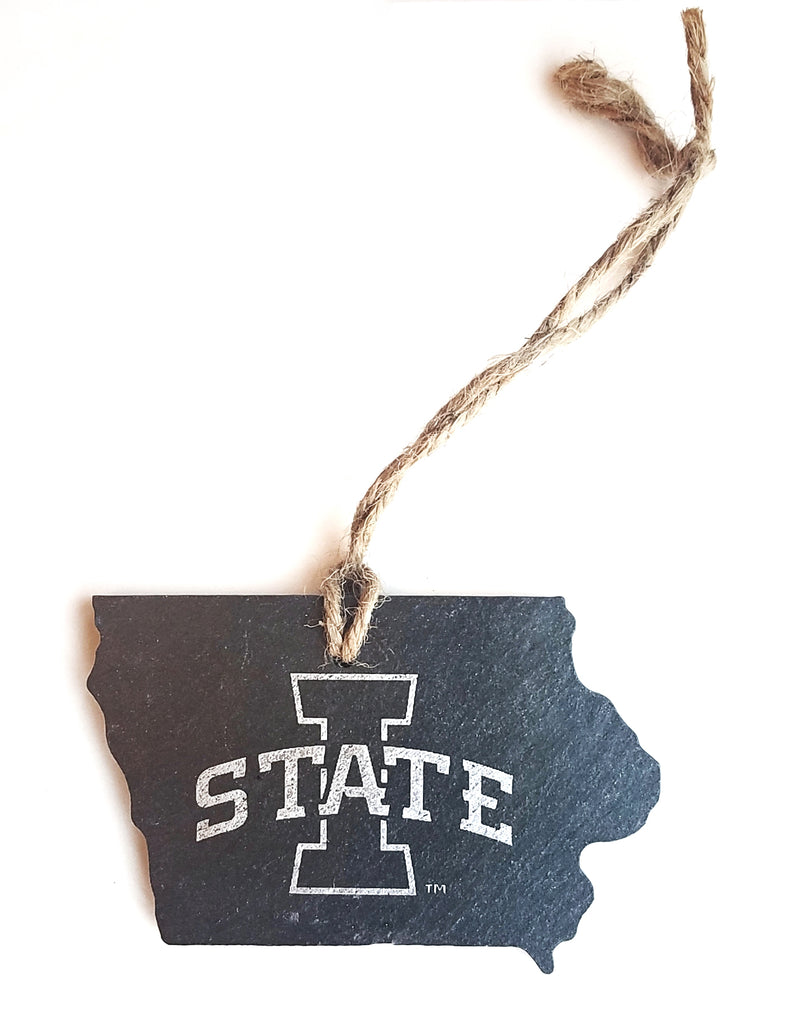 Iowa State Cyclones Slate Ornament