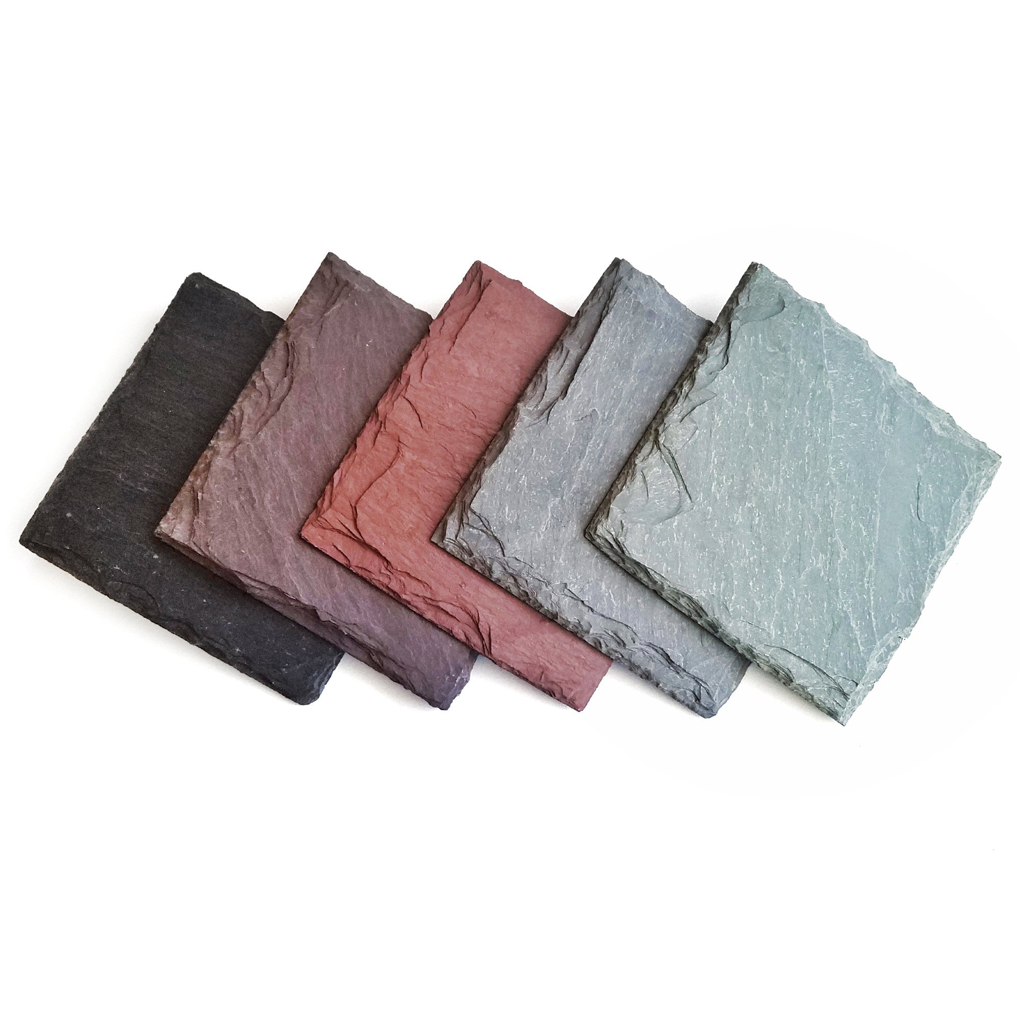 Naturally Colored Slate Coaster