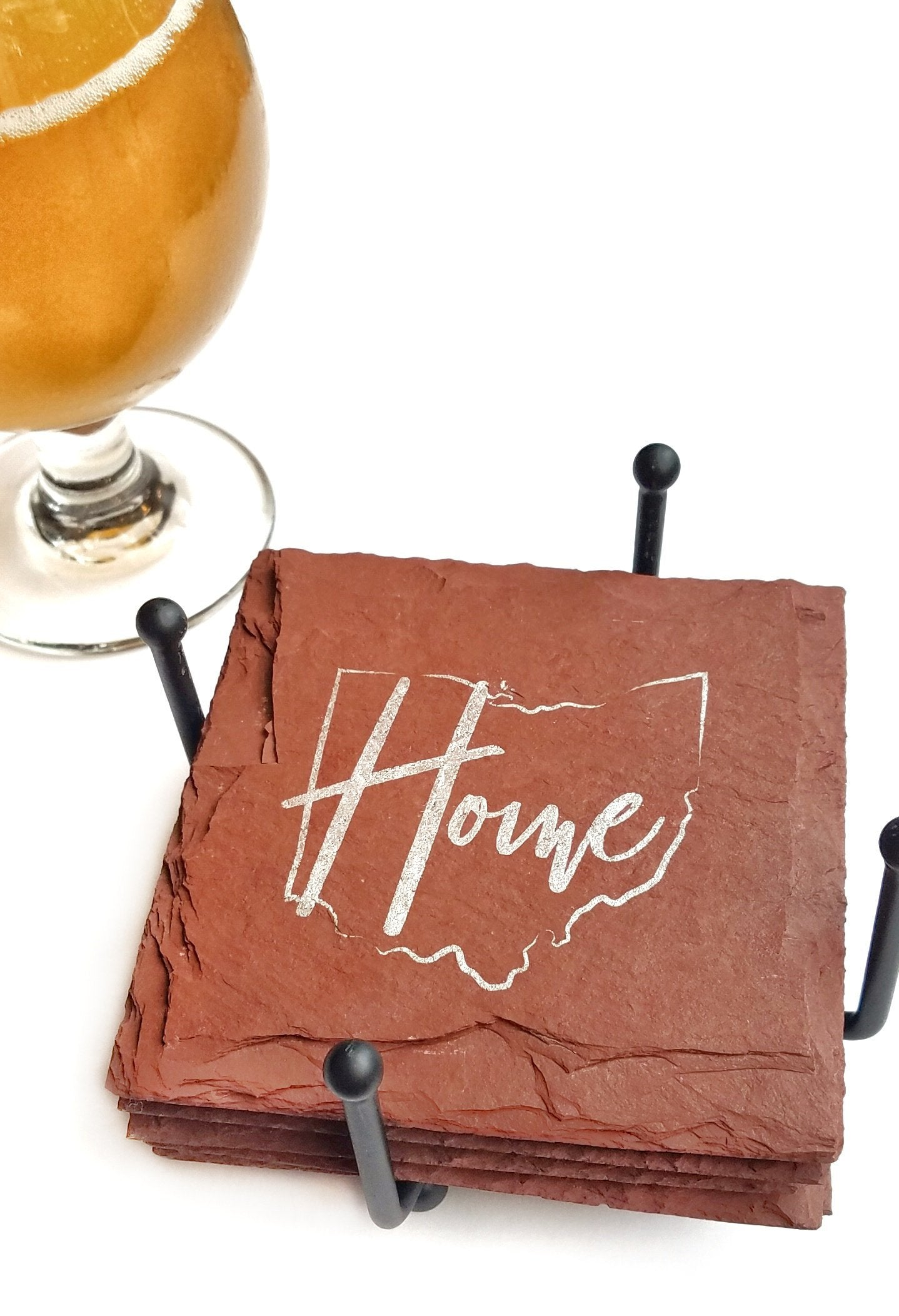 Build your own State Gift Set with Coasters & Holder
