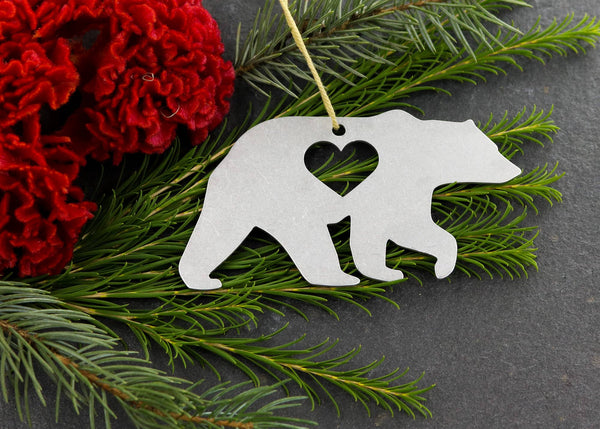Bear Metal Ornament