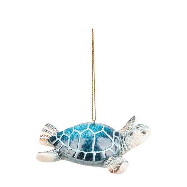 Cozumel Reef Blue Sea turtle Ornament