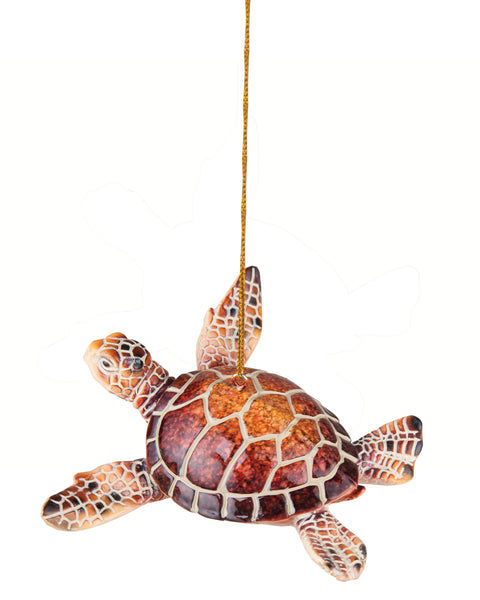 Cozumel Reef Red Sea Turtle Ornament