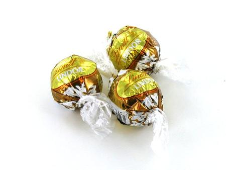 White Chocolate Lindor Truffles