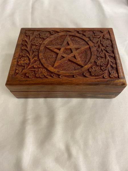 Floral Pentacle Box