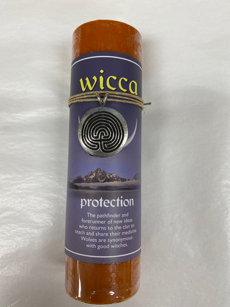 Protection Wicca Pendant Candle