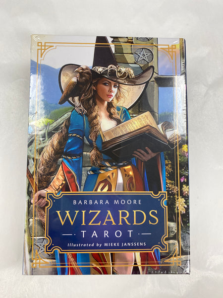 Wizards Tarot Deck Set