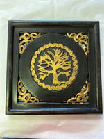 Tree of Life Wood Wall Plaque