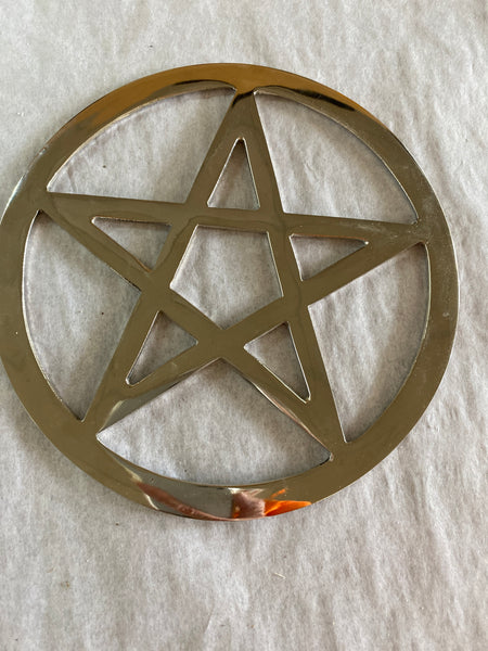 Pentacle Silver Altar