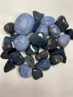 Blue Dumortierite Tumbled