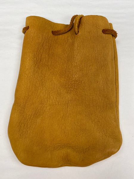 Tan Leather Pouch md