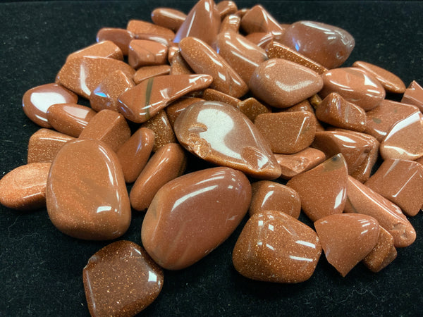 Red Goldstone Tumbled