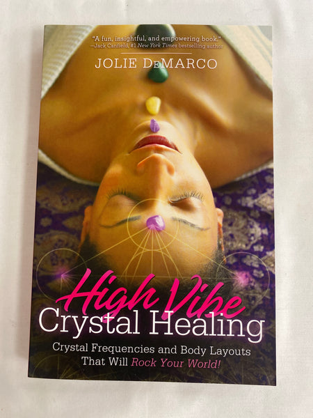 High Vibe Crystal Healing Book