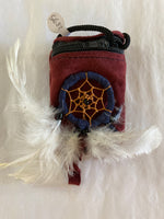 Red Dream Catcher Pouch sm
