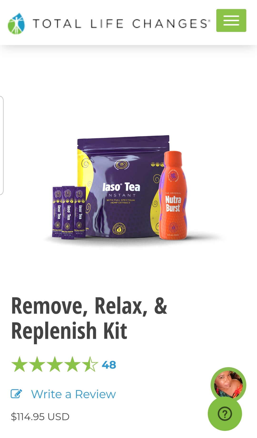 Remove, Relax, and Replenish Kit